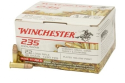 235 rounds of Winchester .22LR for $11.99 per-box! *Expired*