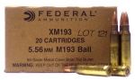 Federal XM193 500 round case for only $169.99!
