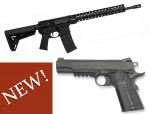NOW IN STOCK! Colt Combat Unit Carbine and Rail Gun