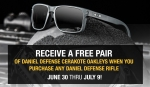 FREE Oakley glasses with the purchase of any Daniel Defense rifle! *EXPIRED