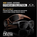 FREE OAKLEY GLASSES With purchase of any Daniel Defense Rifle *EXPIRED*